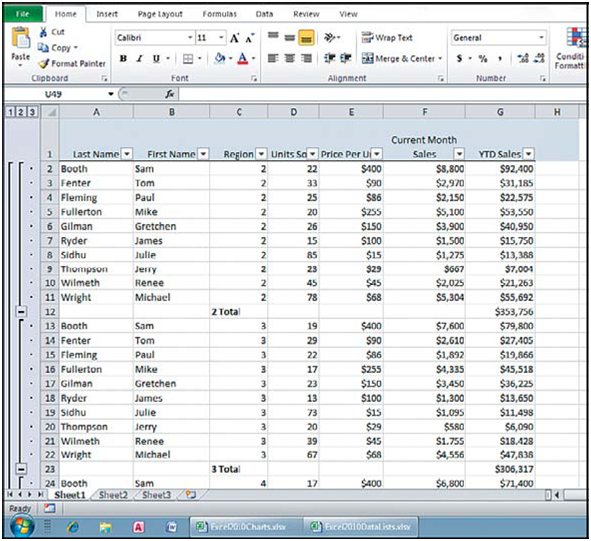 microsoft excel accounting